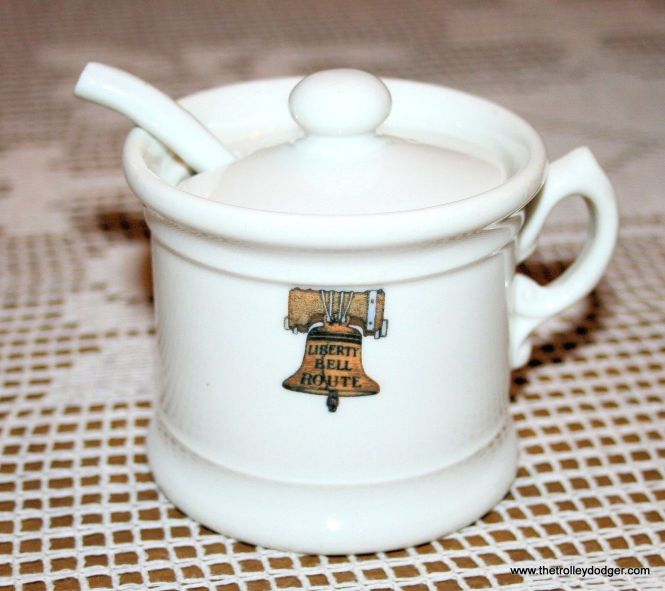 This vintage liberty Bell Limited mustard pot recently sold on eBay for $429.99, although not to me (my finances don't cut the mustard for stuff like this).