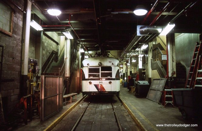 PCC 16 in the shop.