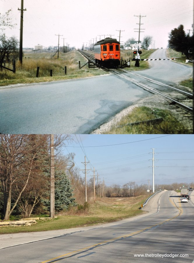 1953 and 2015 compared in South Elgin. (Mark Llanuza Photo)