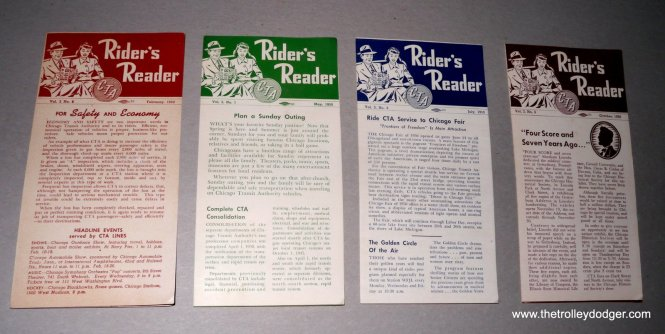 We have four out of the five issues from 1950.