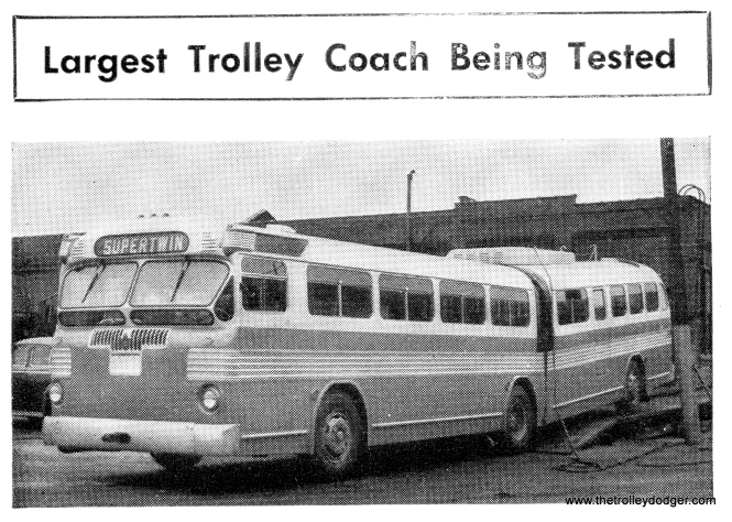 "9763, the CTA's first and only articulated trolley bus, was termed the ""Queen Mary"" by fans. It seems to have been a semi-official name since it is called that in an issue of the Rider's Reader. It has since been preserved at the Illinois Railway Museum."