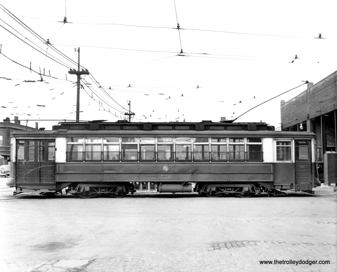 CTA Pressed Steel car 730. It was built in 1909 to the same specs as the Pullmans.