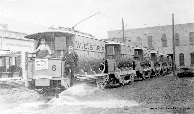 West Chicago Street Railway sprinklers.