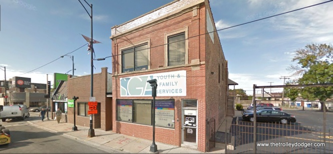 47th and Kedzie today. One building is still there, but the top has been redone.