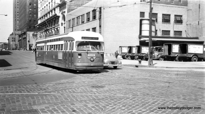 CTA 4106 at the same location. (Roy W. Bruce Photo)