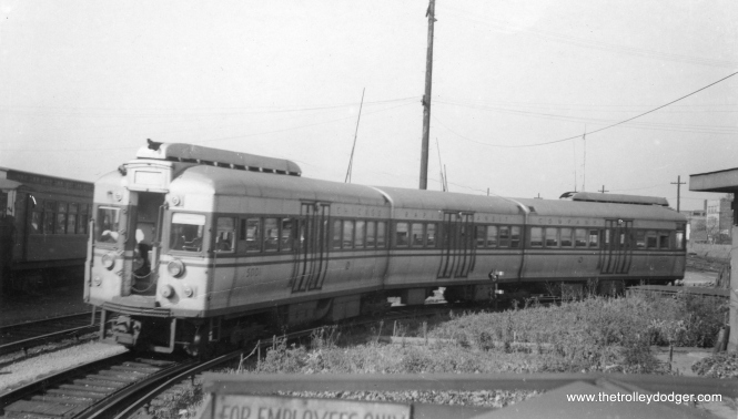 CTA 5001 at Laramie on September 27, 1948. (Stephen D. Maguire Photo)