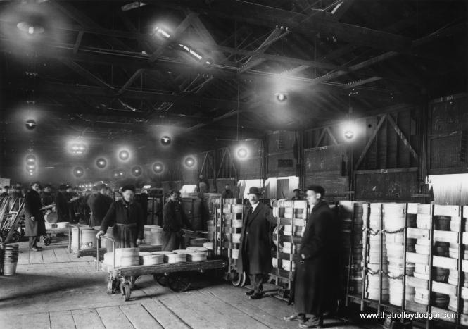 Warehouse operations.