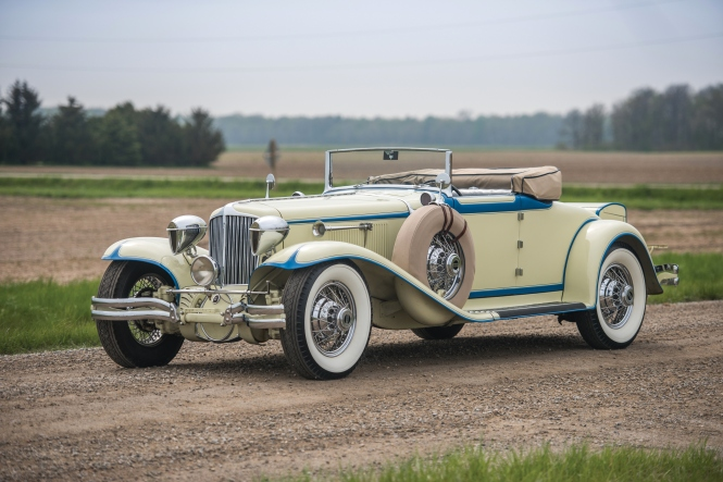 And this is a 1930 Cord L-29 Convertible.