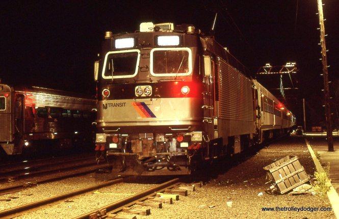A NJT ALP-44 electric locomotive.