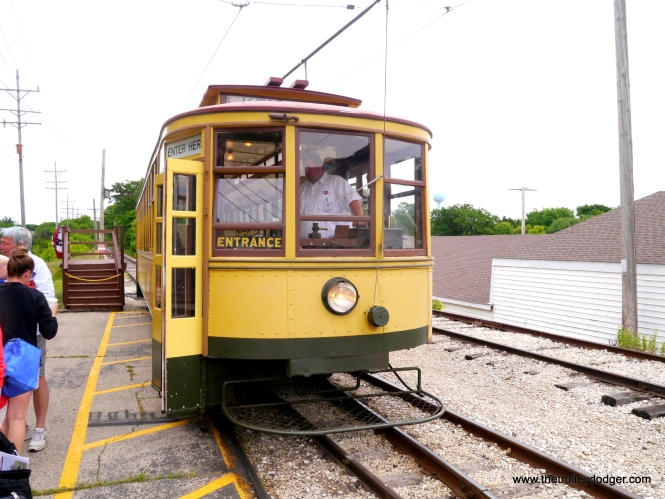 The Minneapolis car at East Troy.