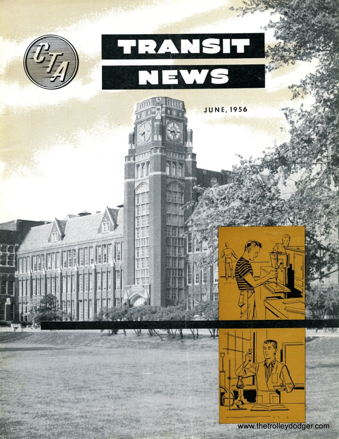 "We now have a nearly complete set of hi-res scans of the CTA Transit News, an employee publication, covering the years from 1947 to 1973. That's an amazing 282 issues in all, on average 24 pages per copy. It's a wealth of information, covering several thousand pages of material, added to our E-Book The ""New Look"" in Chicago Transit: 1938-1973, available through our Online Store."
