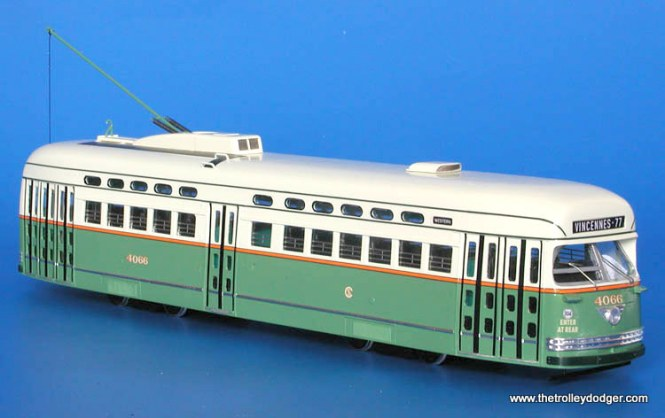 1946 Chicago Surface Lines as-delivered with white standee windows.