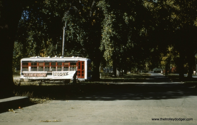 22 near Colorado State University in October 1950.
