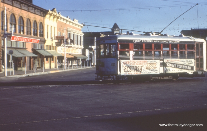 22 in downtown Fort Collins in October 1950.