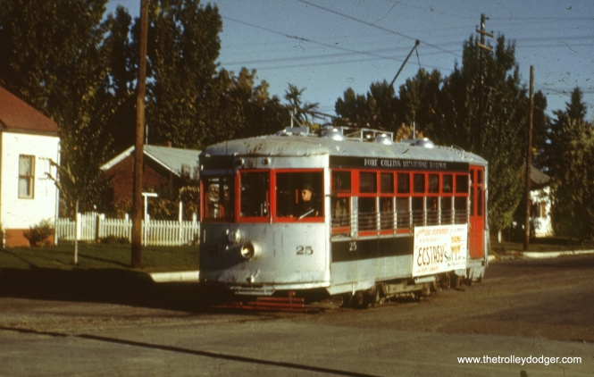 25 in southeast Fort Collins in October 1950.