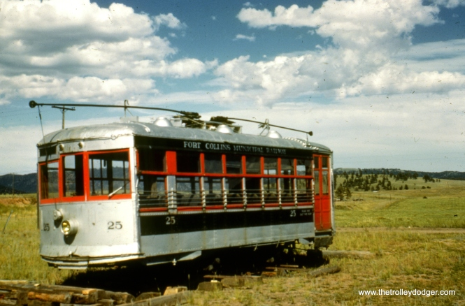 25 stored at Woodland Park, Colorado on September 4, 1953.