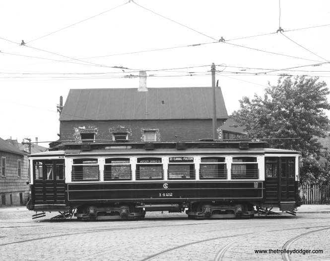 CSL 1422, also a Small St. Louis car, signed for 14-Canal-Fulton.