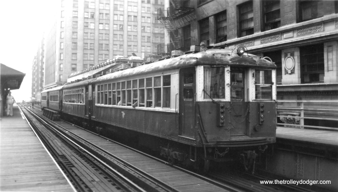 4000s downtown. (Edward Frank, Jr. Photo, George Trapp Collection)