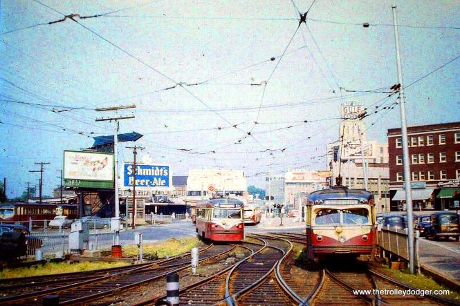 Near 69th Street Terminal circa 1954.