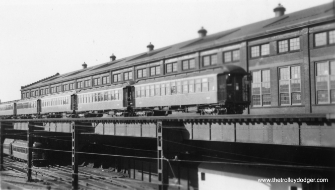Wilson Shops, showing the Lower Yard tracks. (George Trapp Collection)
