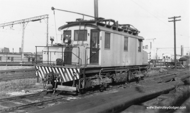 S-105 in CTA days. (Allen T. Zagel Photo, George Trapp Collection)