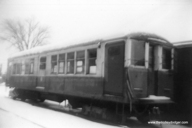 """By the time this picture was taken (February 1966), the original """"baldy"""" 4000s had been taken out of service and replaced by 2000s. (George Trapp Photo)"""