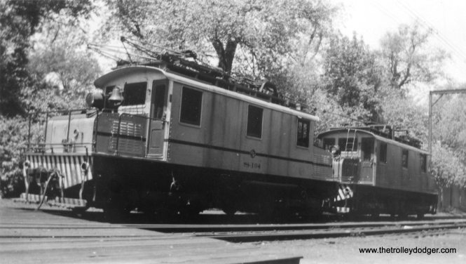 S-104 in CTA days. (George Trapp Collection)