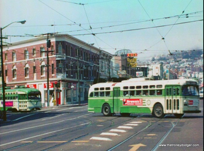 To this day, San Francisco operates trolley buses as well as PCCs.