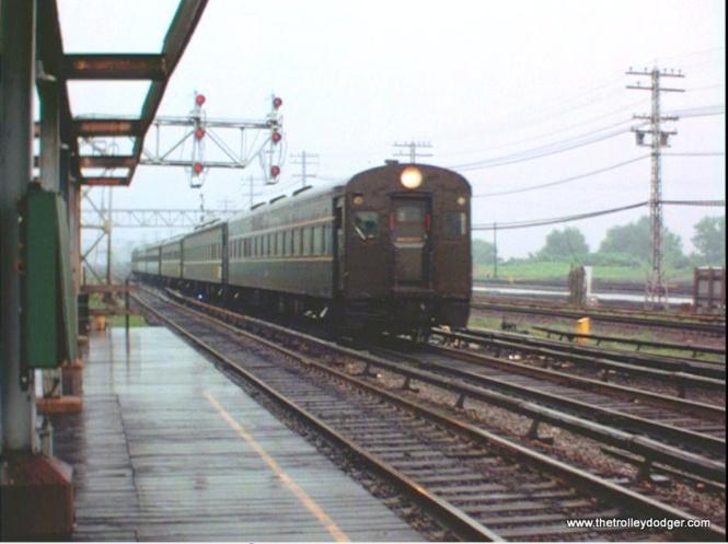 A Penn Central train.