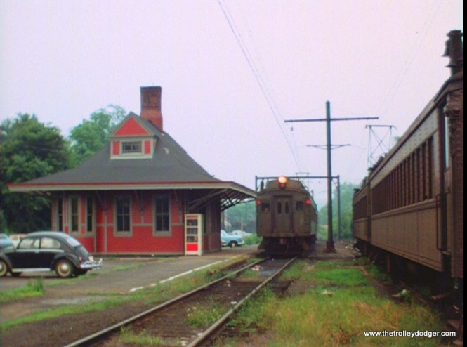 An Erie Lackawanna train in New Jersey.