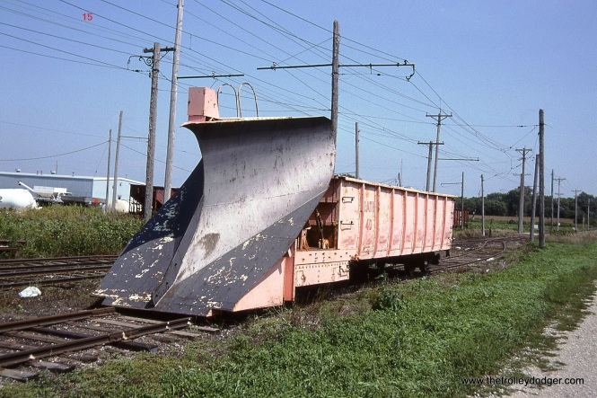 15. Iowa Traction snow plow # 40 at Emery, IA.