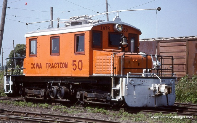 3. Iowa Traction # 50 at Emery. It was built in 1920 for the Washington & Old Dominion Railroad.