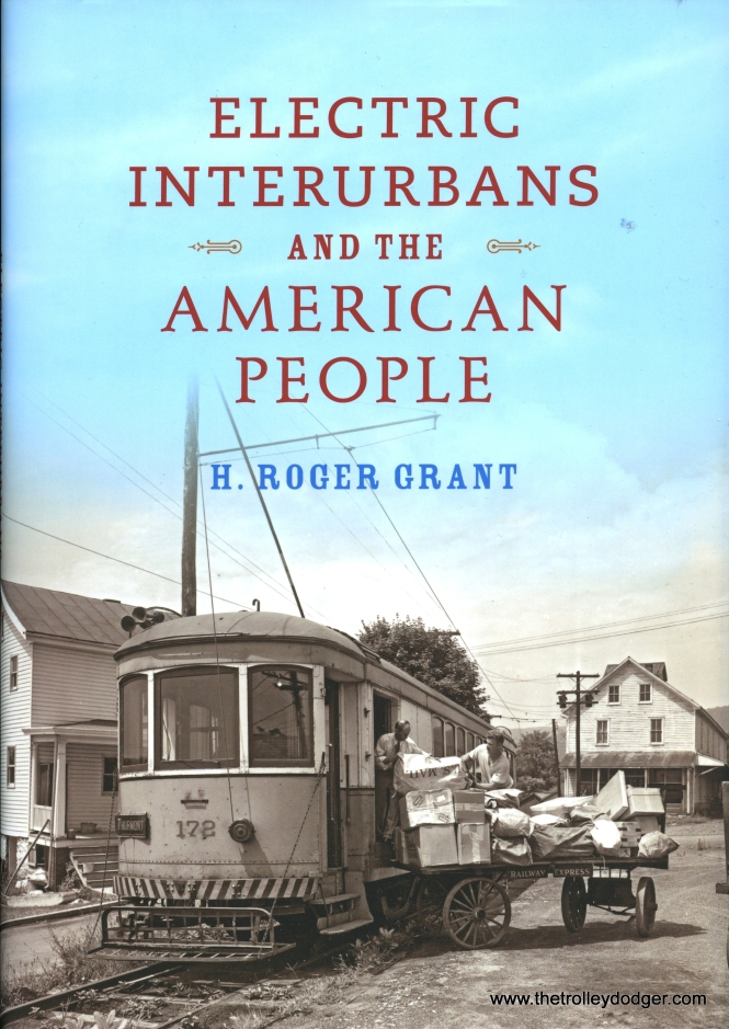 The book's cover shows the Hagerstown & Frederick, a Maryland interurban. Ironically, considering the title, it had very few riders.