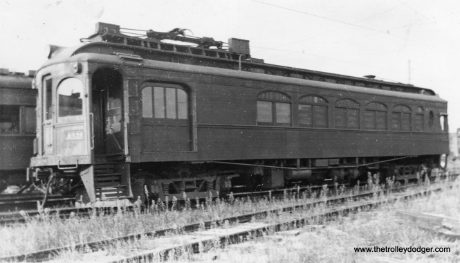 Here is another rare photo of CSS&SB wooden combine car 1126.