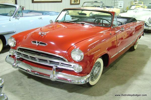 A 1953 Dodge Coronet.