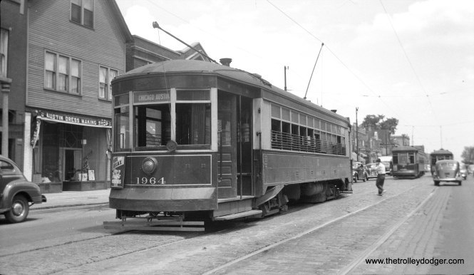 CSL 1964 is at Chicago and Austin, west end of line, at the city limits.