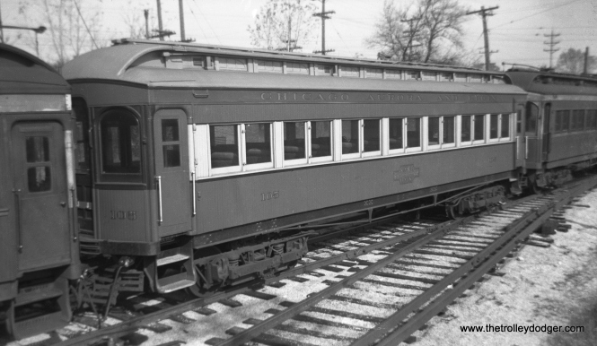 "Don's Rail Photos: ""105 was built by Stephenson in 1903. It was modernized in August 1940 and retired in 1955. """