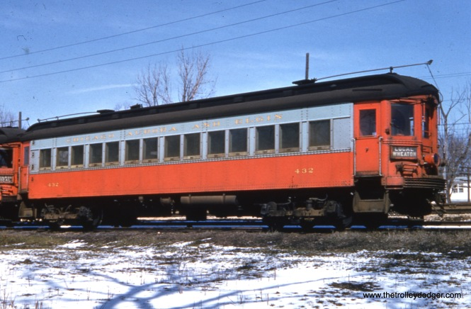 CA&E 432 in winter.