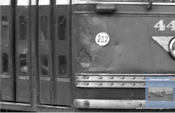 A close-up of the previous photo shows some evidence of Bondo-type patch work on 4404.