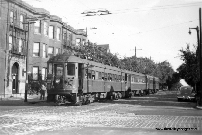 #5 Chicago Limited in Milwaukee, date unknown, but after 1939.