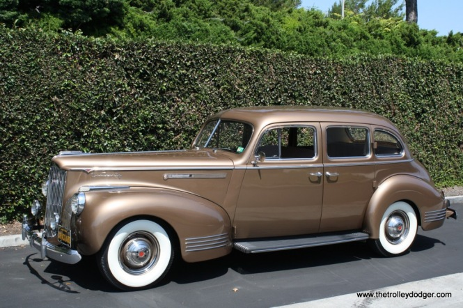 A 1941 Packard One Twenty sedan.