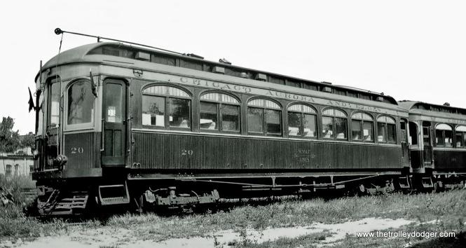 CA&E Car 20.