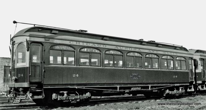 CA&E Car 24.