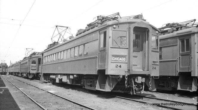 "CSS&SB 24. Don's Rail Photos: ""24 was built by Pullman in 1927. It was lengthened and air conditioned, and got picture windows in 1947."" (Photo by Anderson)"