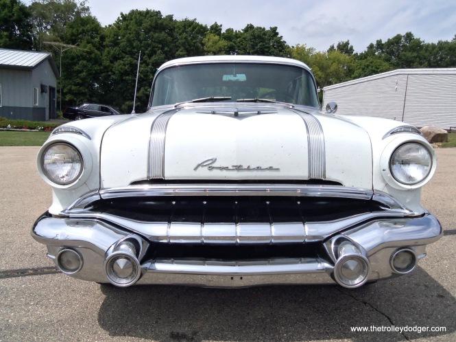 A 1956 Pontiac.