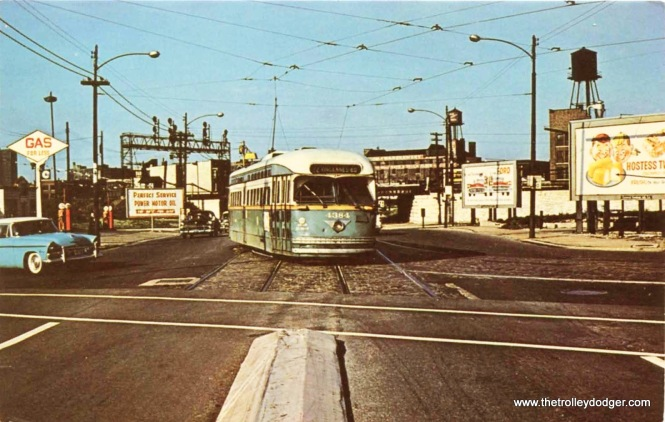 CTA PCC 4384 at Archer and Wentworth.