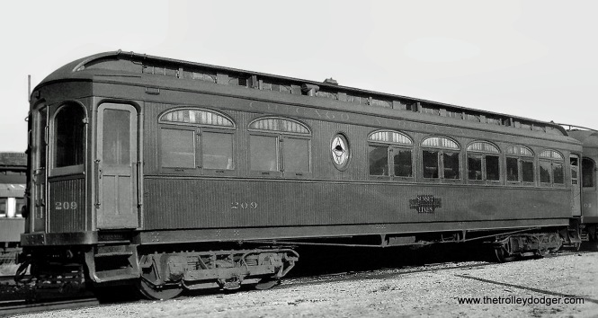 CA&E 209 at Wheaton Shops in 1924.