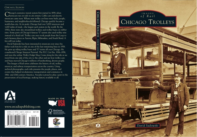 On the Cover: Car 1747 was built between 1885 and 1893 by the Chicago City Railway, which operated lines on the South Side starting in April 1859. This is a single-truck (one set of wheels) open electric car; most likely a cable car, retrofitted with a trolley and traction motor. The man at right is conductor William Stevely Atchison (1861-1921), and this image came from his granddaughter. (Courtesy of Debbie Becker.)