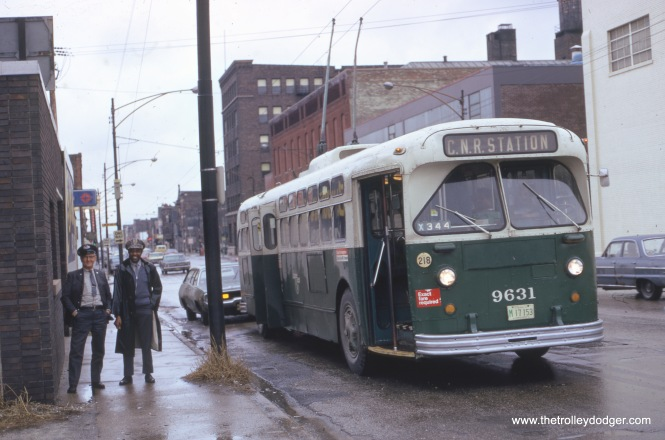 Fullerton Avenue eastbound, April 1, 1973.