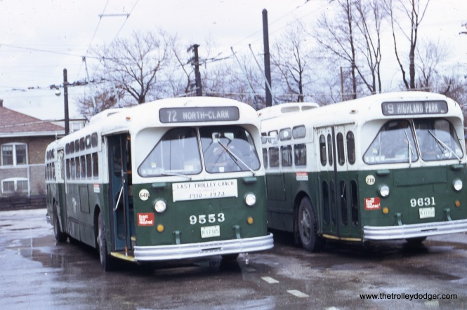 North and Narragansett, eastbound, April 1, 1973.